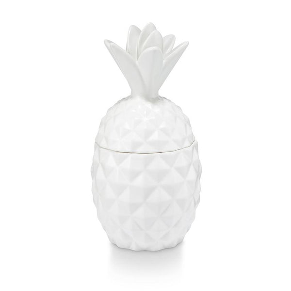 Illume Ceramic Pineapple Candle