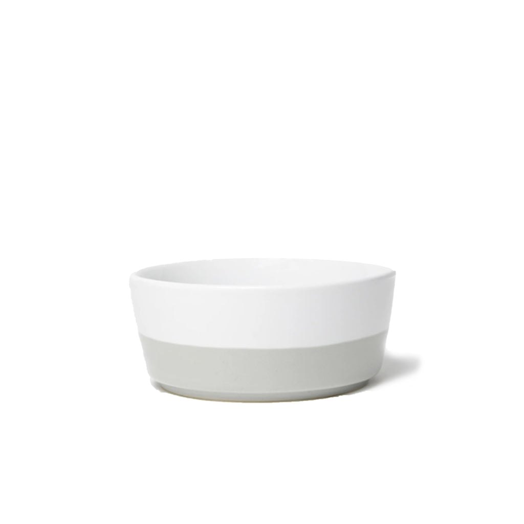 Light Grey Dipper Dog Bowl - All She Wrote