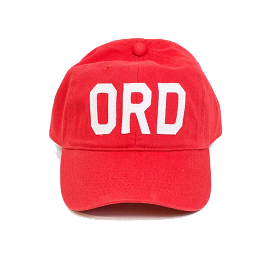 Red ORD Hat - All She Wrote