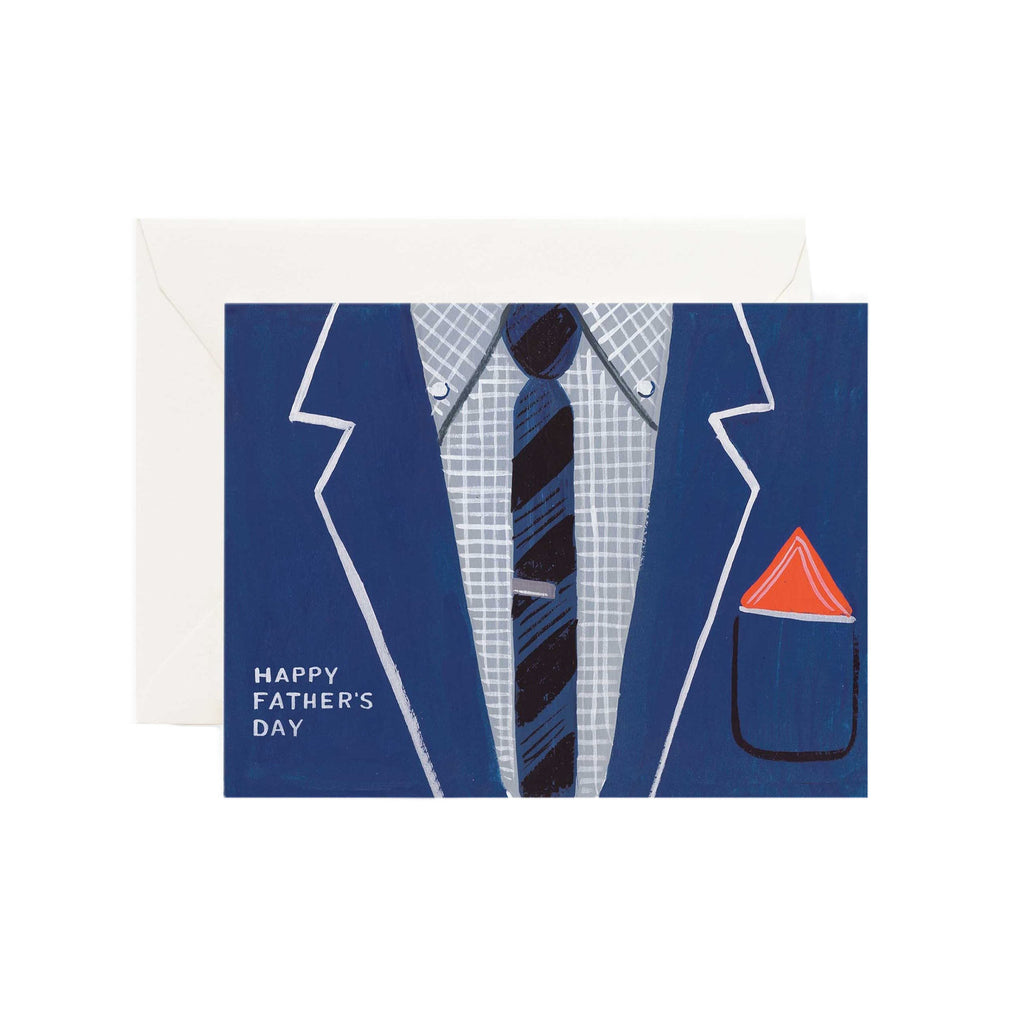 Father's Day Suit Card - All She Wrote