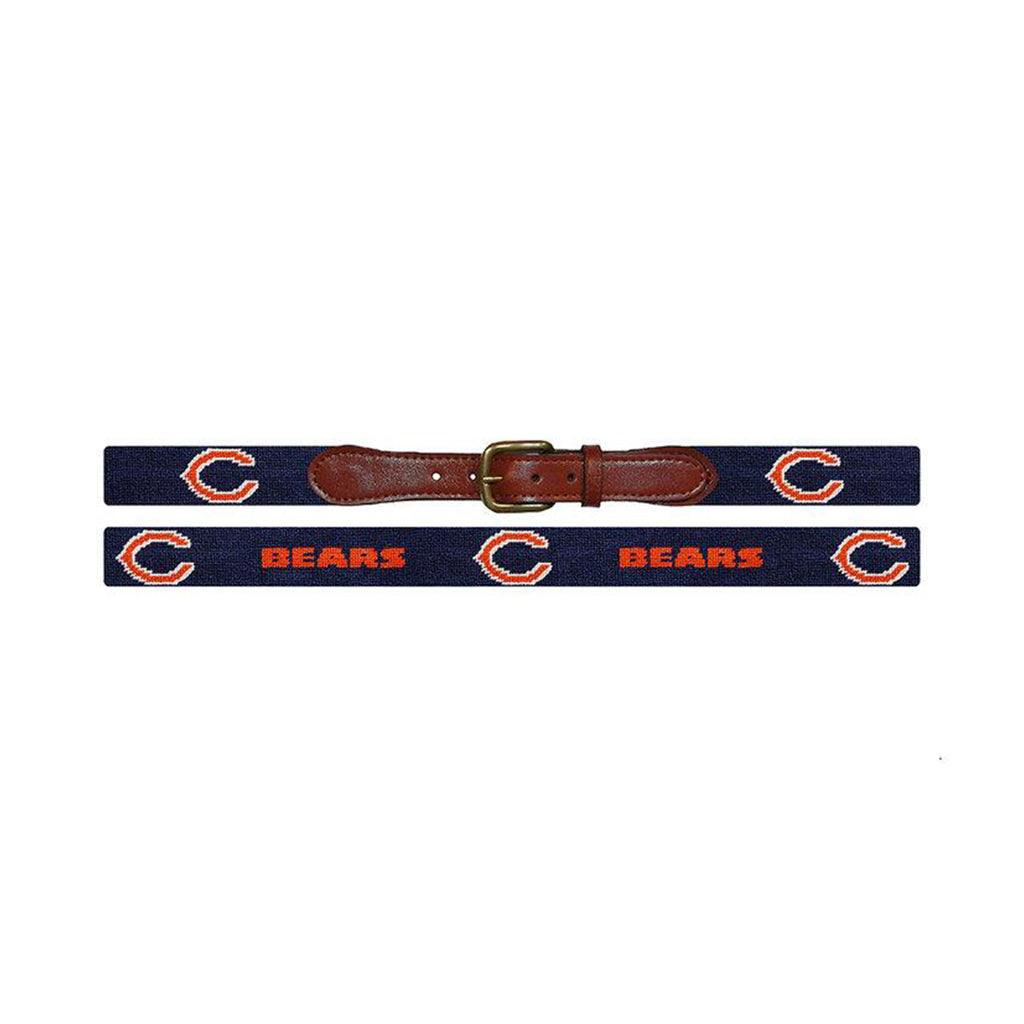 Chicago Bears Needlepoint Belt - All She Wrote