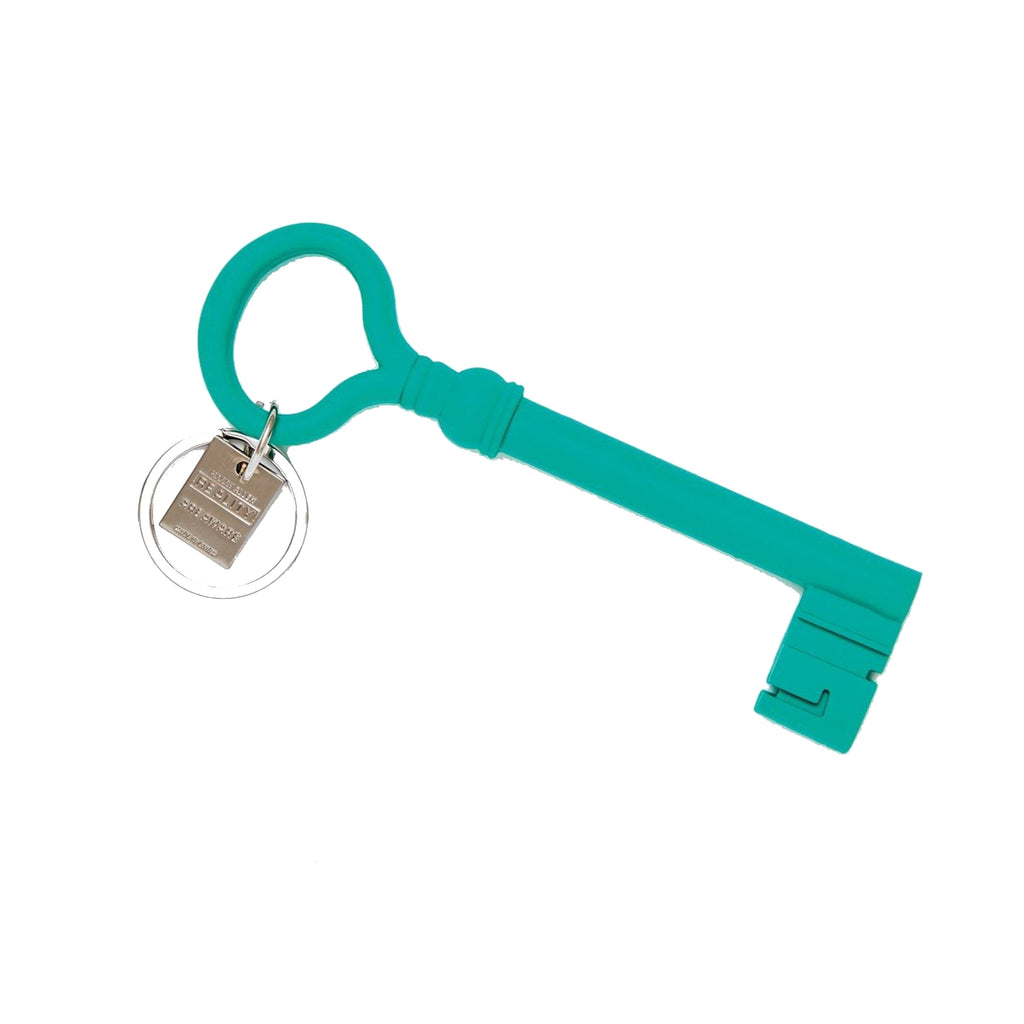 Teal Key Keychain - All She Wrote
