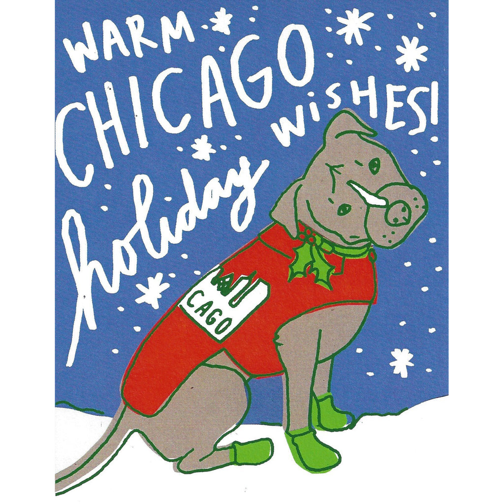 Warm Chicago Wishes Boxed Stationery - All She Wrote