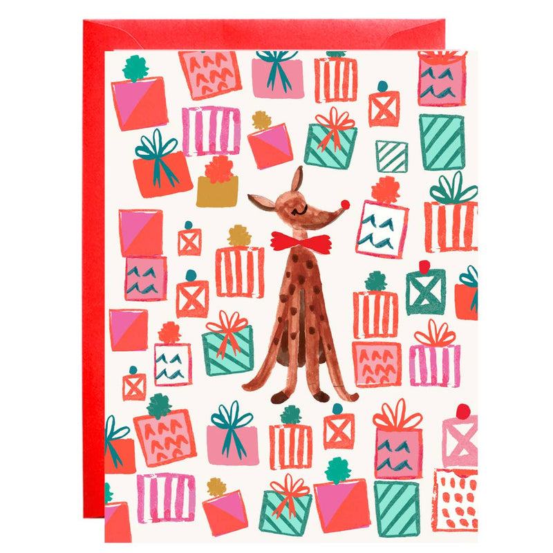 Dasher Holiday Petite Card