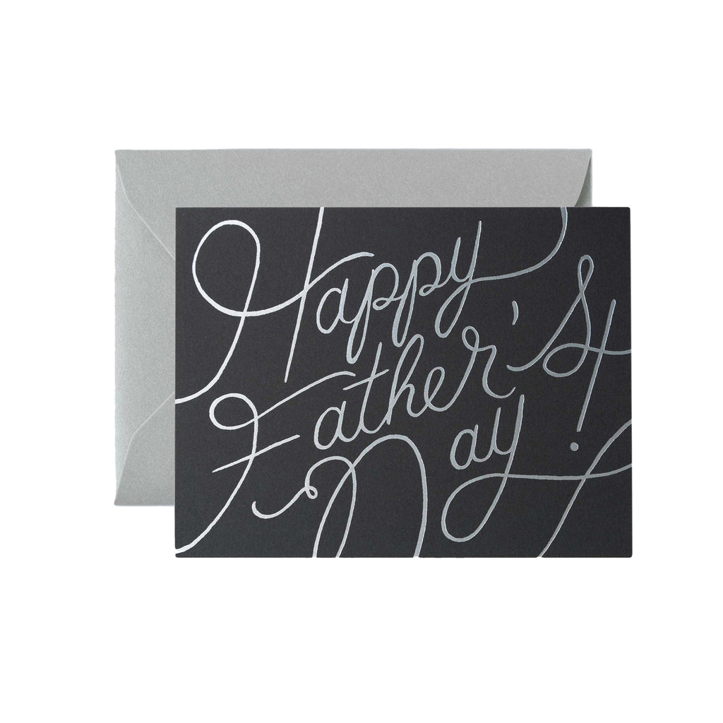 Script Father's Day Card - All She Wrote