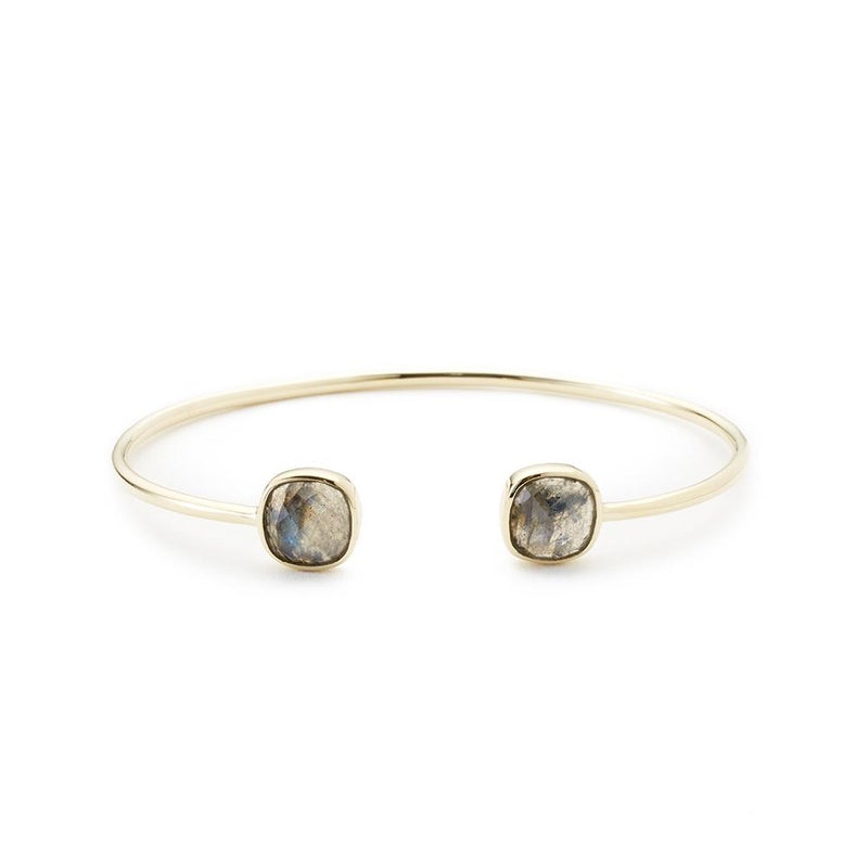 Cushion Cut Bangle - All She Wrote