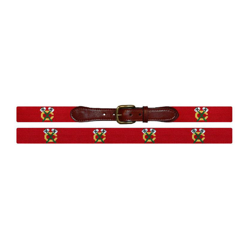 Chicago Blackhawks Needlepoint Belt - All She Wrote