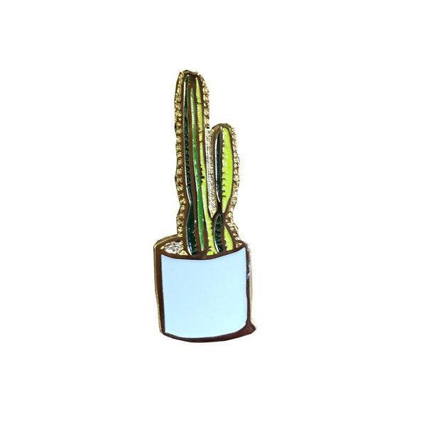 Cactus Enamel Pin - All She Wrote