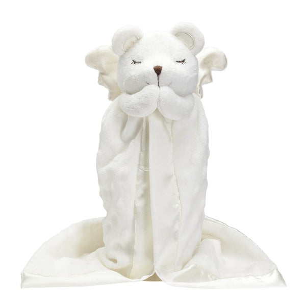 Prayer Bear Mini Blankie - All She Wrote