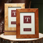 Burl Wood Frame - All She Wrote