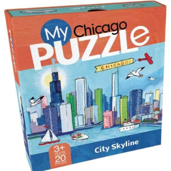 My Chicago Puzzle - All She Wrote