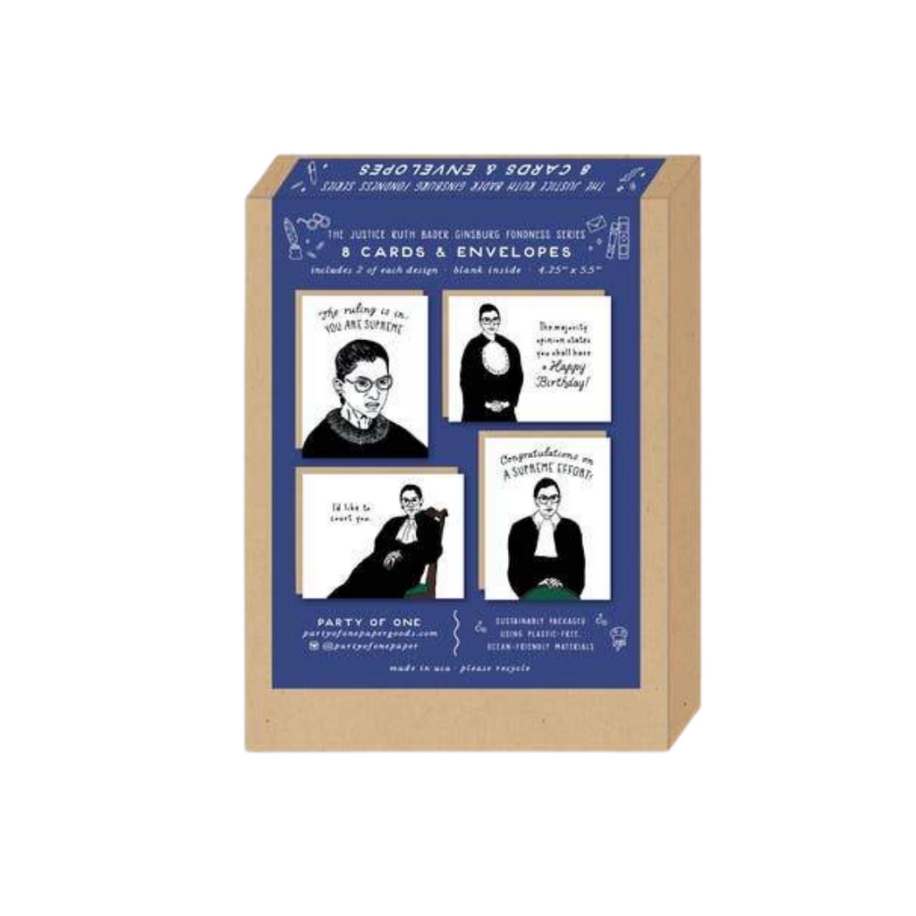 RBG Boxed Stationery Set
