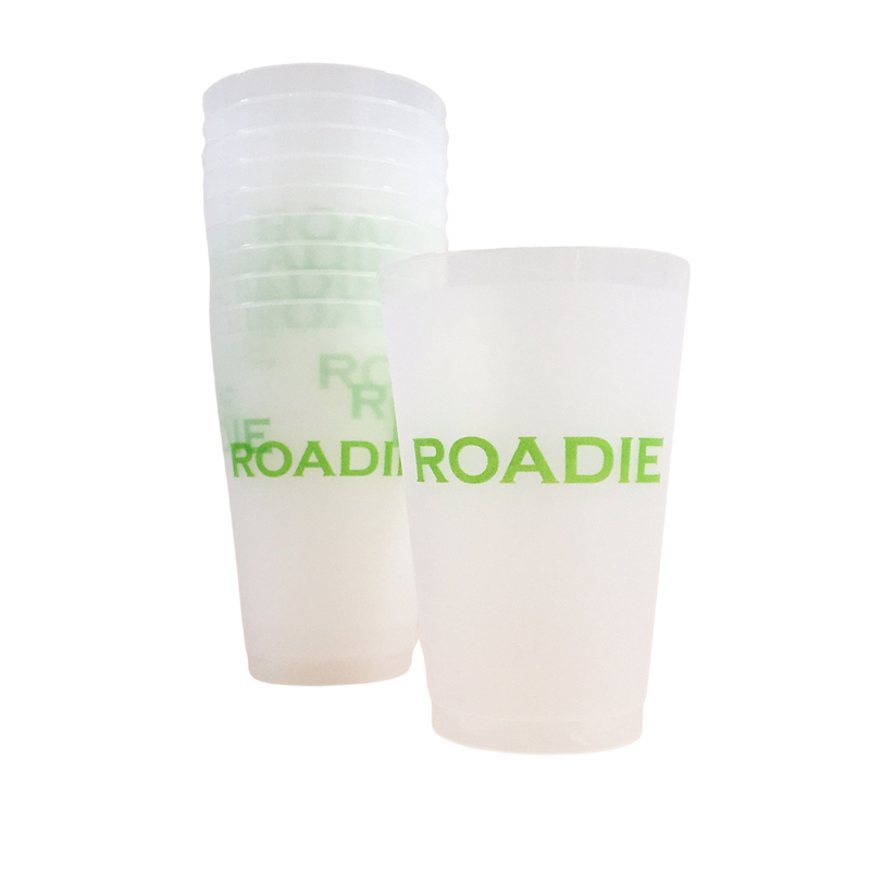 Green Roadie Cups