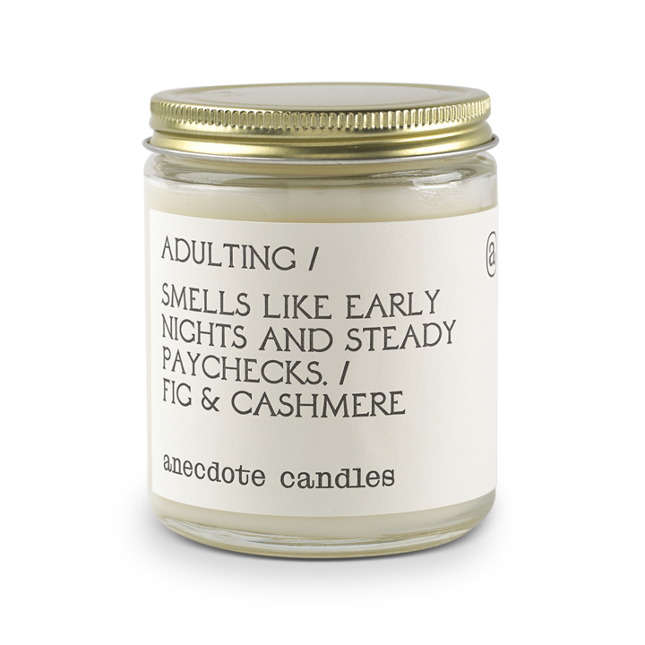 Adulting Jar Candle - All She Wrote