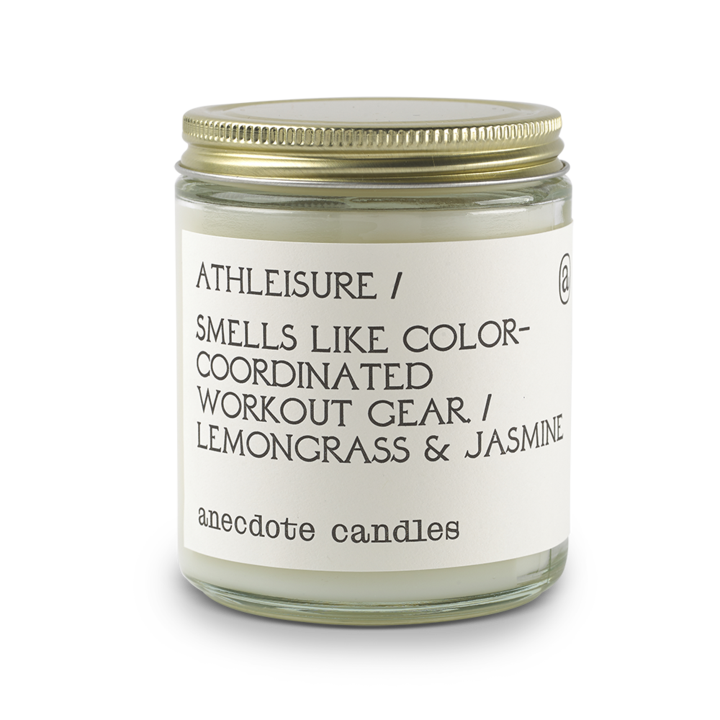 Athleisure Jar Candle - All She Wrote