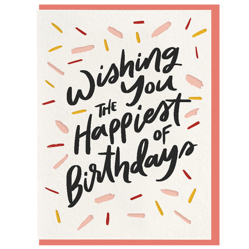 Happiest Birthday Card - All She Wrote