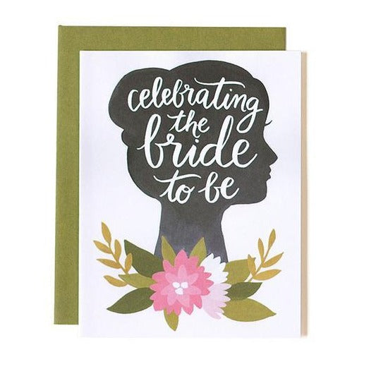 Bride To Be Card - All She Wrote