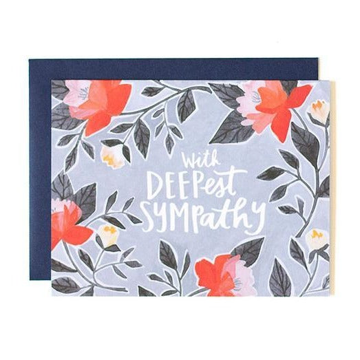 Deepest Sympathy Card - All She Wrote