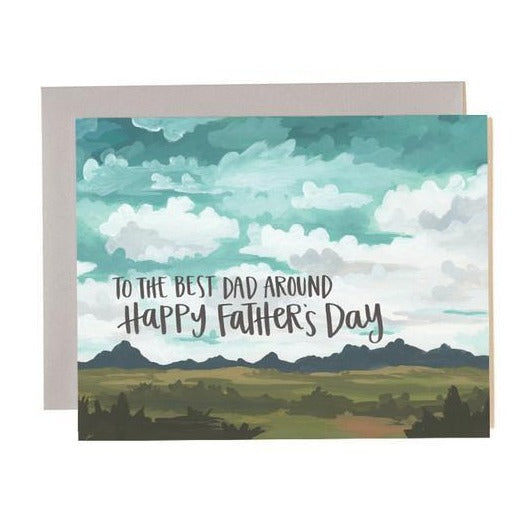 Best Dad Around Card - All She Wrote