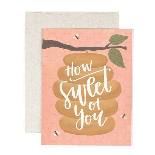 How Sweet Card - All She Wrote
