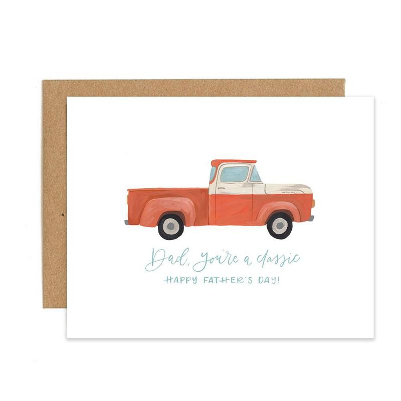 Father's Day Truck Card - All She Wrote