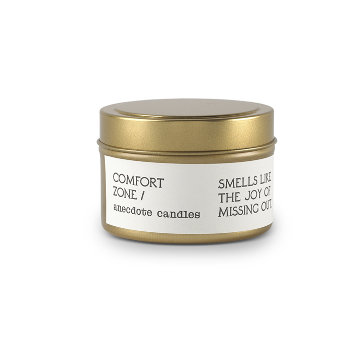 Comfort Zone Travel Tin Candle - All She Wrote