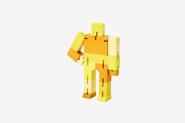 Yellow Cubebot - All She Wrote