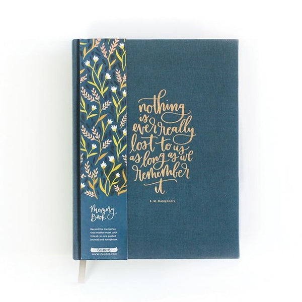 Floral 5 Year Memory Book - All She Wrote