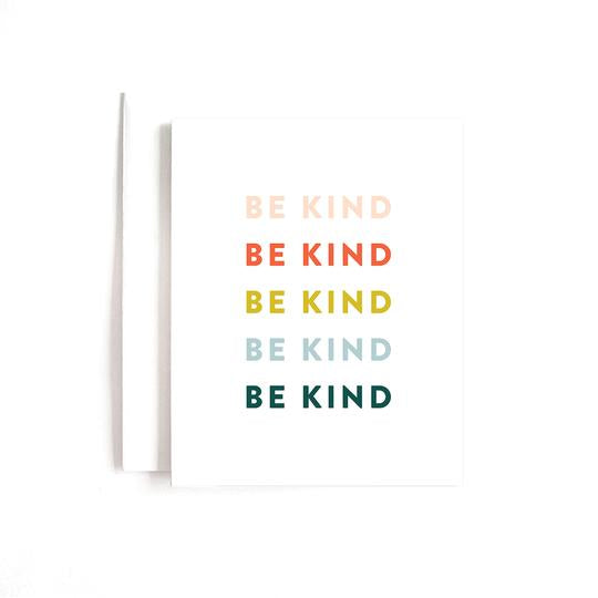 Be Kind Card - All She Wrote