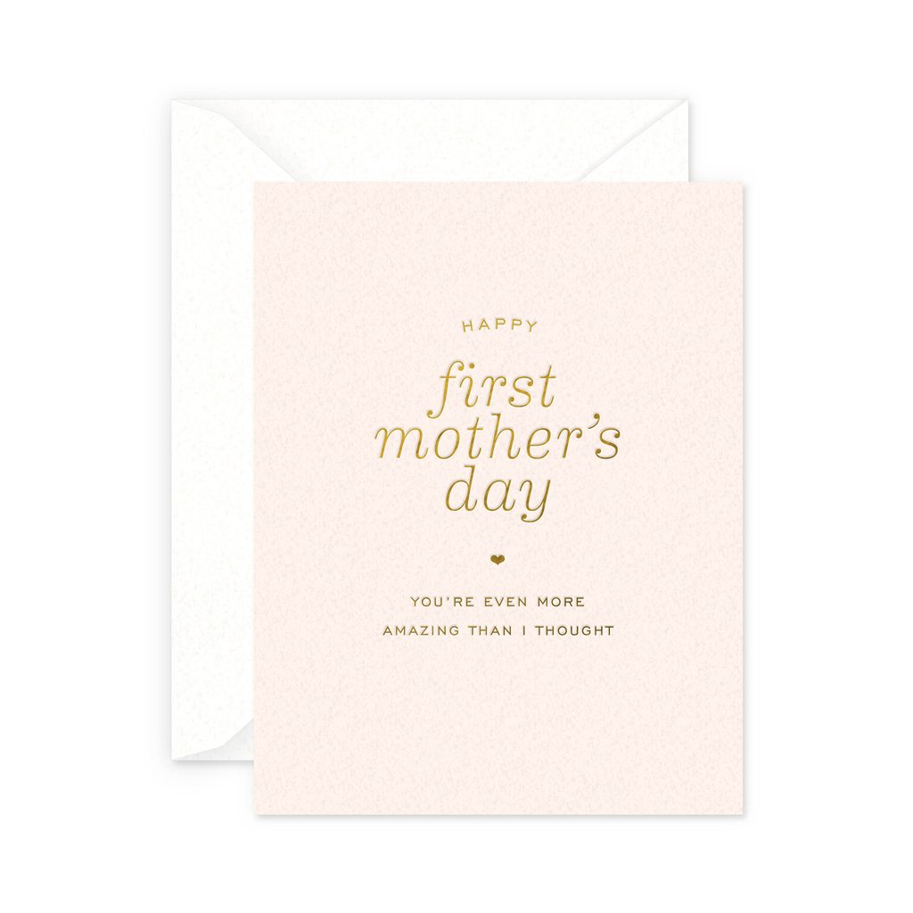 First Mother's Day Card - All She Wrote