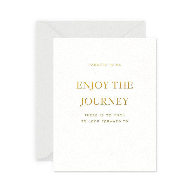 Enjoy The Journey Baby Card - All She Wrote