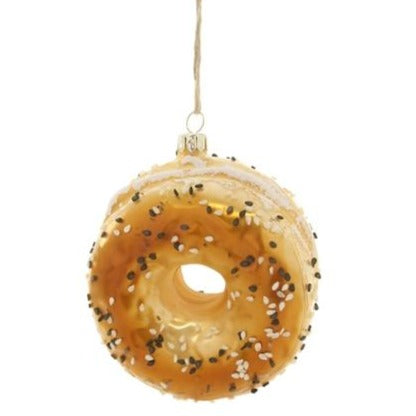 Everything Bagel Ornament - All She Wrote