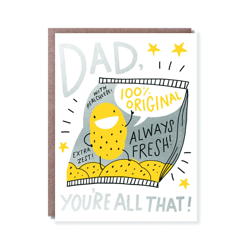 Dad's All That Card - All She Wrote