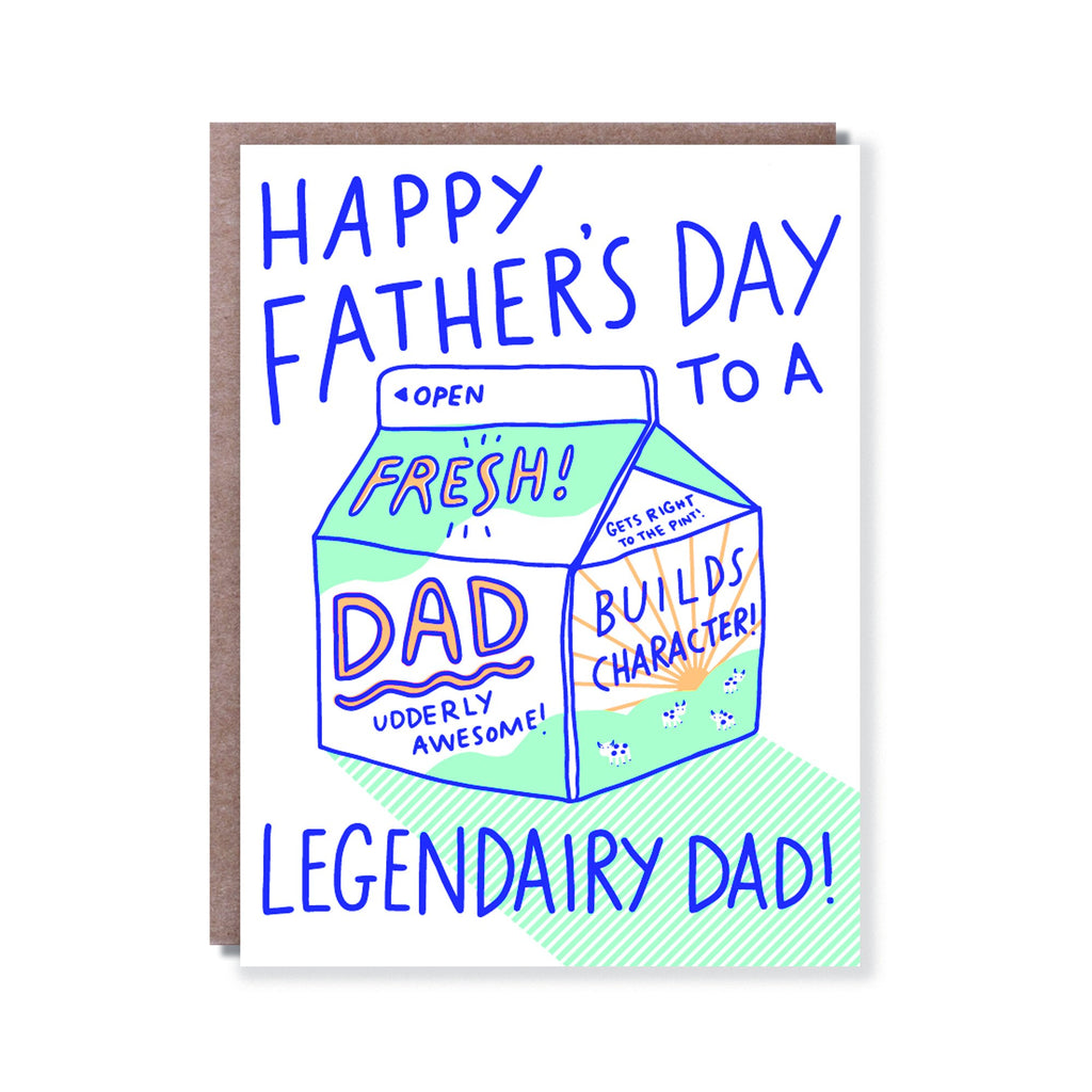 Legendairy Dad Card - All She Wrote