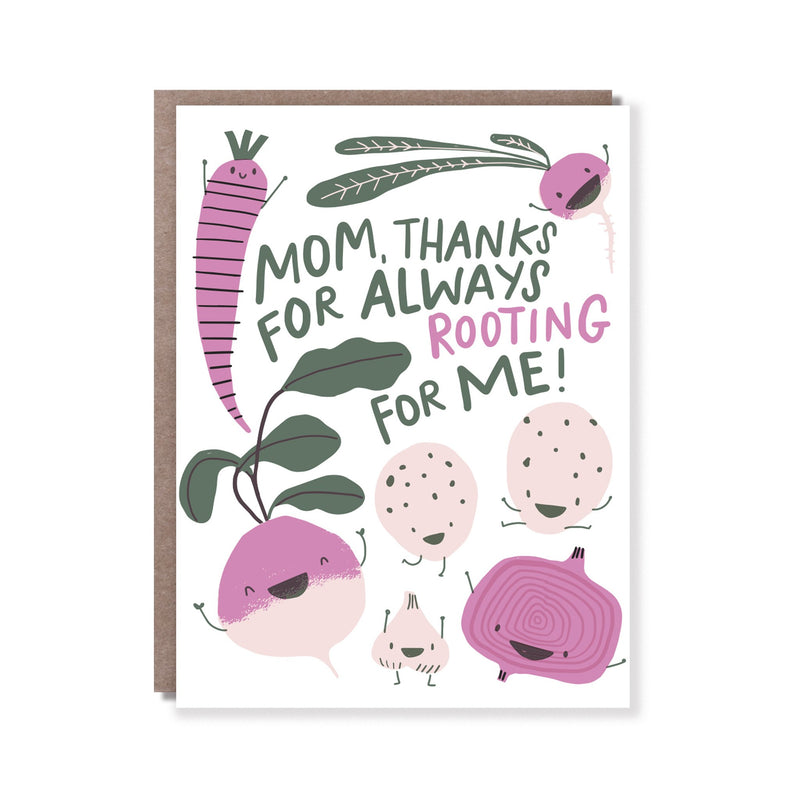 Rooting For Me Card - All She Wrote