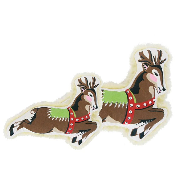 Harry Barker Reindeer Canvas Dog Toy