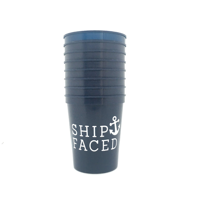 Ship Faced Cups