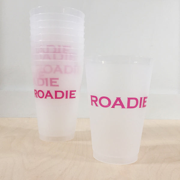 Roadie Cups- Pink