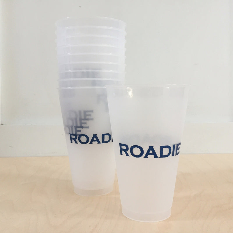 Navy Roadie Cups - All She Wrote