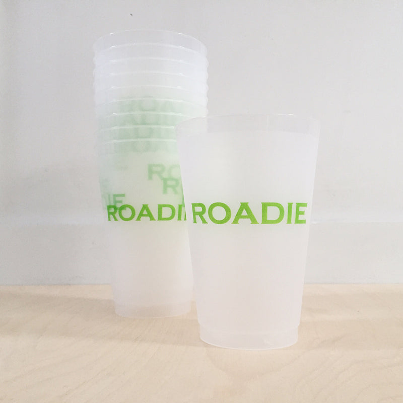 Green Roadie Cups - All She Wrote