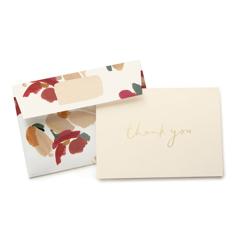 Marigold Thank You Boxed Stationery