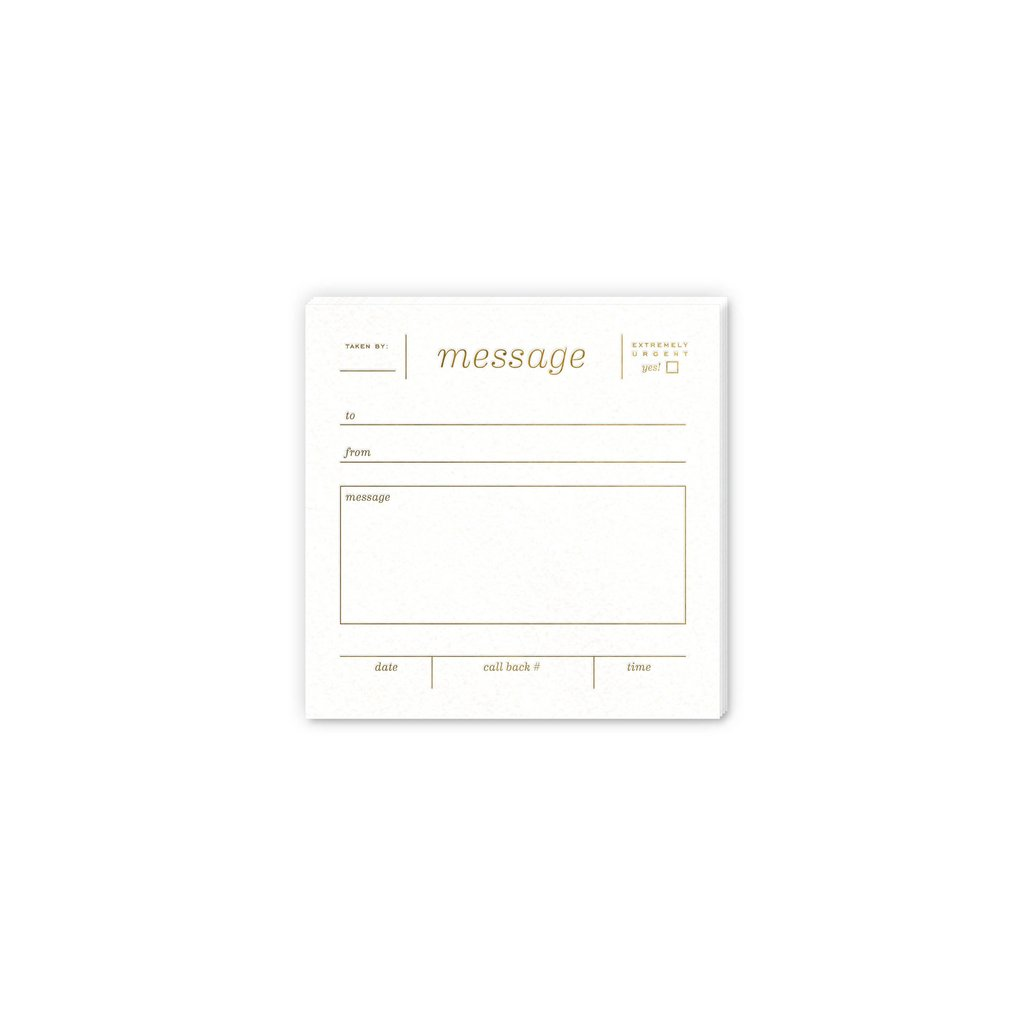 Message Notepad - All She Wrote