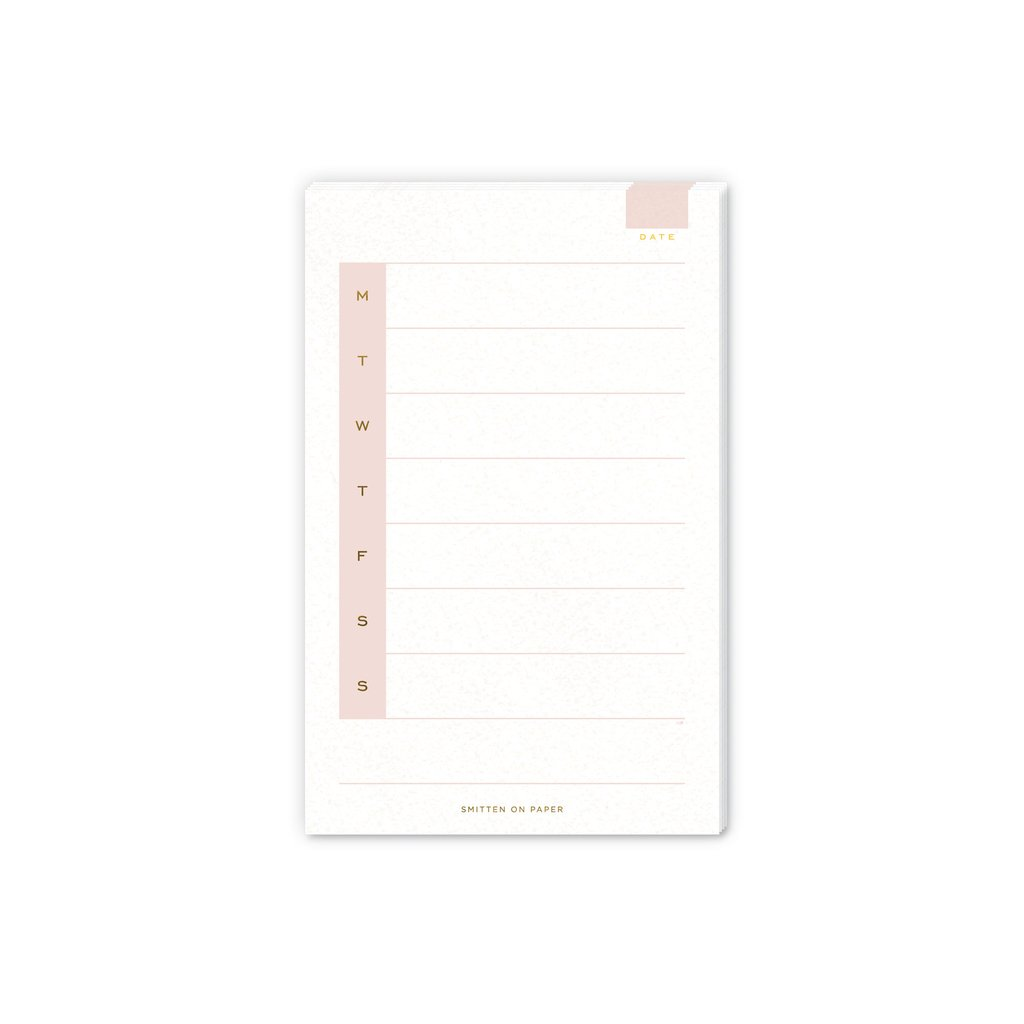 Weekly Notepad - All She Wrote