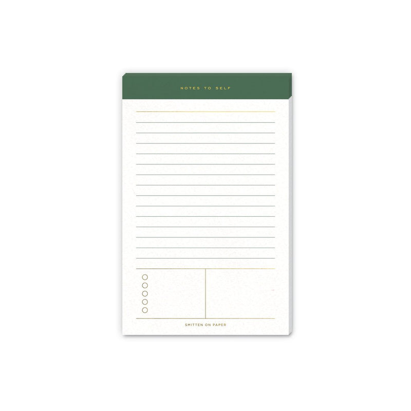 Daily Notes Notepad - All She Wrote