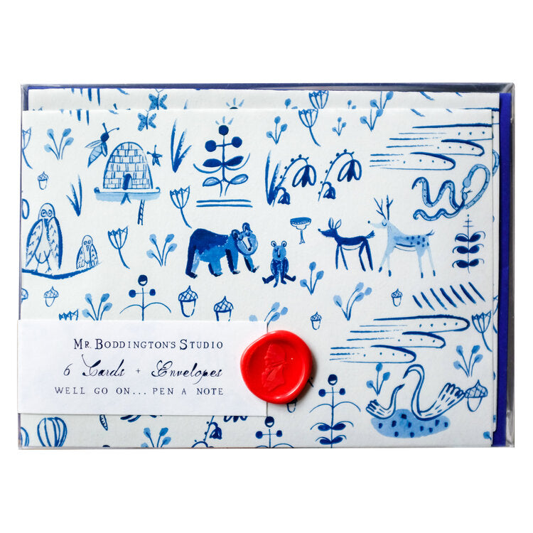 Forest Animals Stationery Set