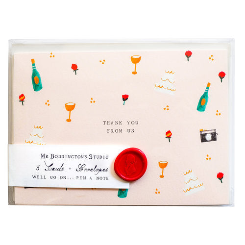 John & Jackie Stationery Set - All She Wrote