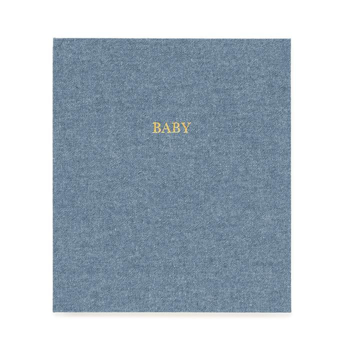 Chambray Baby Book - All She Wrote