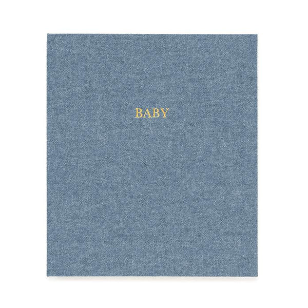 Sugar Paper Baby Book, Chambray