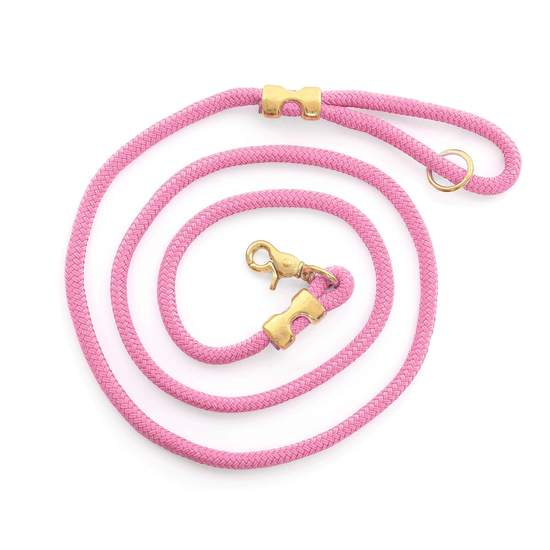 Orchid Marine Rope Dog Leash - All She Wrote