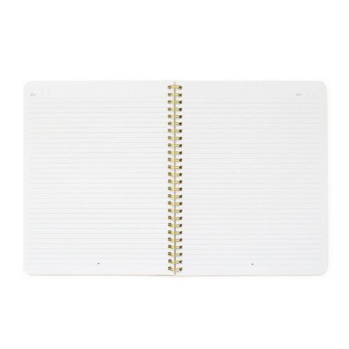 Sugar Paper White Perfect Dot Notebook